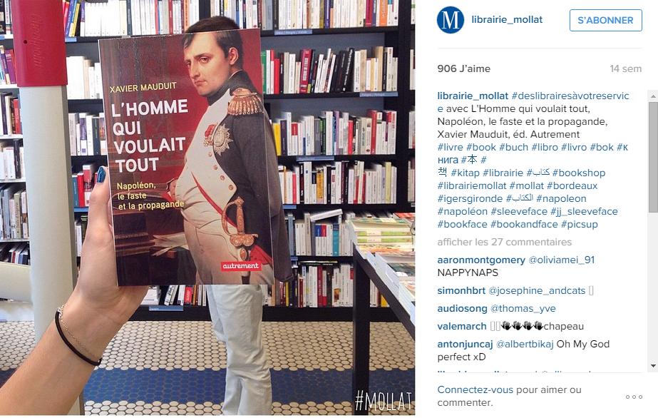 librairie bordeaux instagram