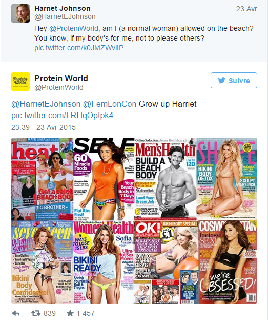Protein world reply