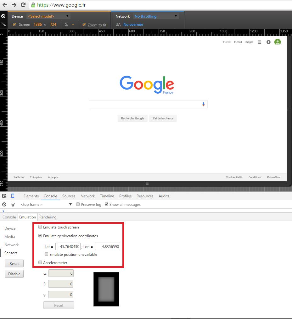 Comment activer le filtre de localisation Google ?