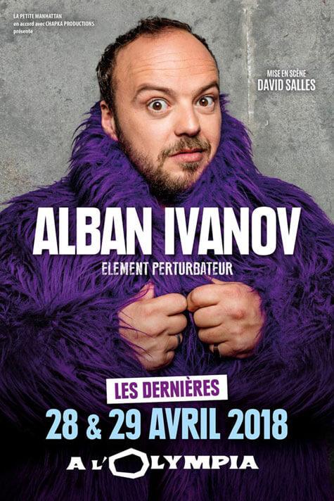 Alban Ivanov Element Perturbateur