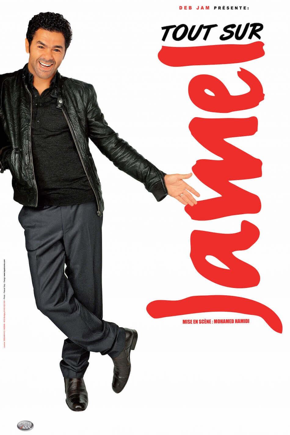 Jamel Debbouze spectacle tout sur Jamel