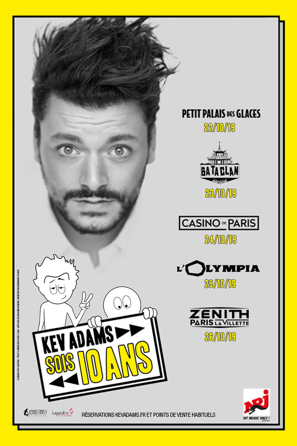 Kev Adams spectacle 10 ans