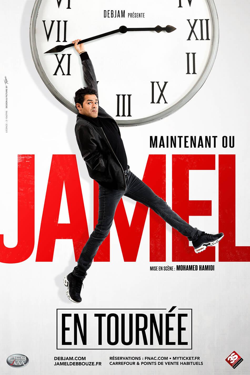 Jamel Debbouze spectacle maintenant ou Jamel
