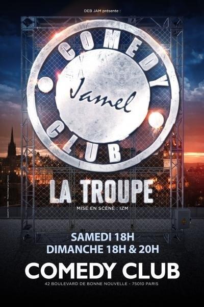 Troupe Jamel Comedy Club