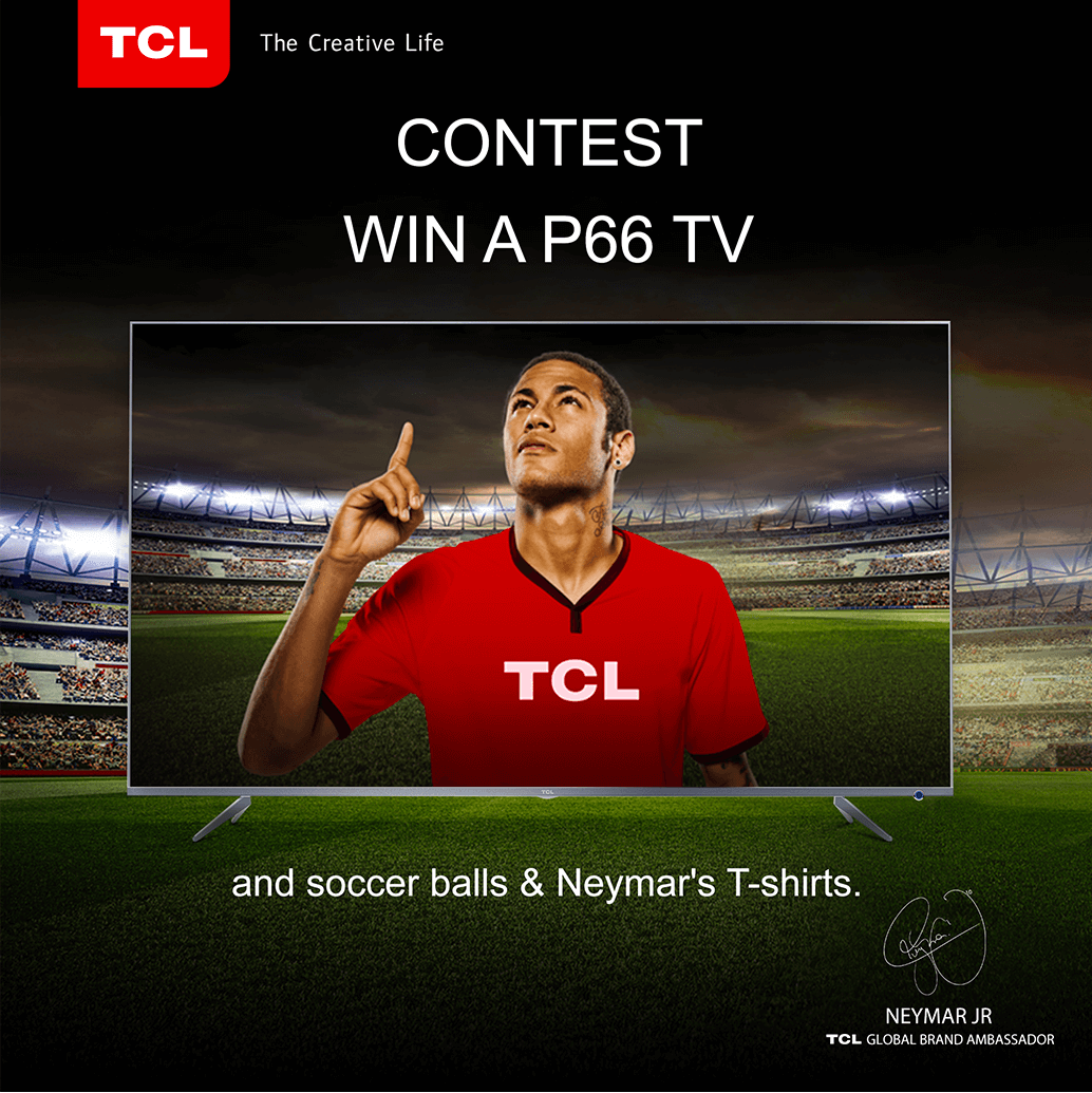 TCL Neymar partnership 2