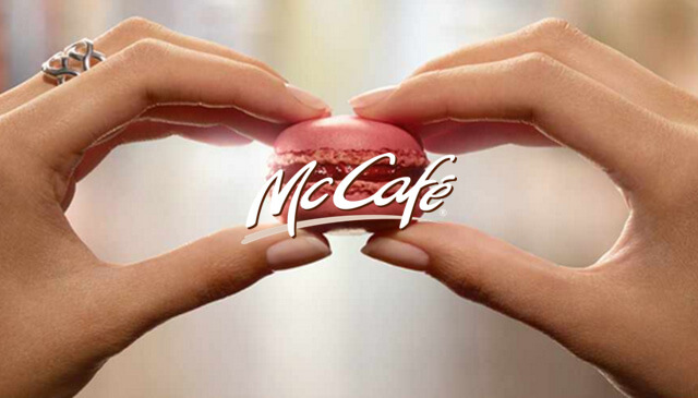 digital campaign McCafé hover